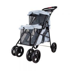 double pet stroller
