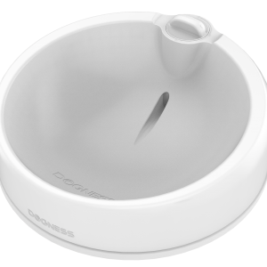 travel pet bowl duo white