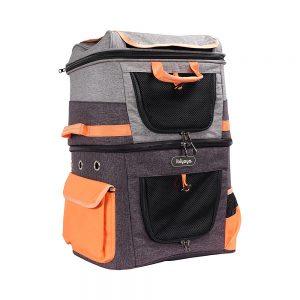 Ibiyaya Two-Tier Pet Backpack