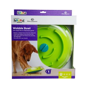 Wobble Dog Food Bowl